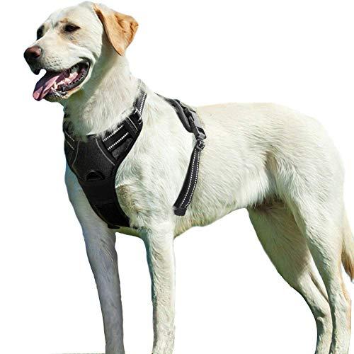 Eagloo Hundegeschirr Geschirr für Große Hunde Anti Zug Mittelgroße...