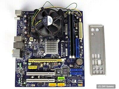 Mainboard CPU Ram Bundle: Foxconn MCP73M04 + Intel Core2Quad Q6600 + 4GB DDR2