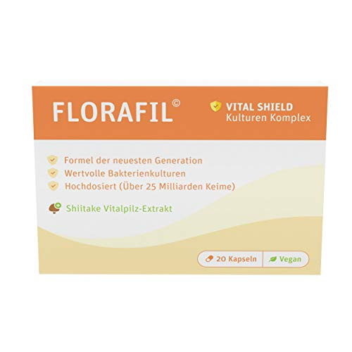 Florafil   Probia Komplex   Bakterienstämme   20 Kapseln   vegan   Made in...