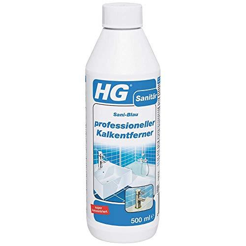 HG Professionelle Kalkentferner 500 ml - Kalklöser - Entfernung von...