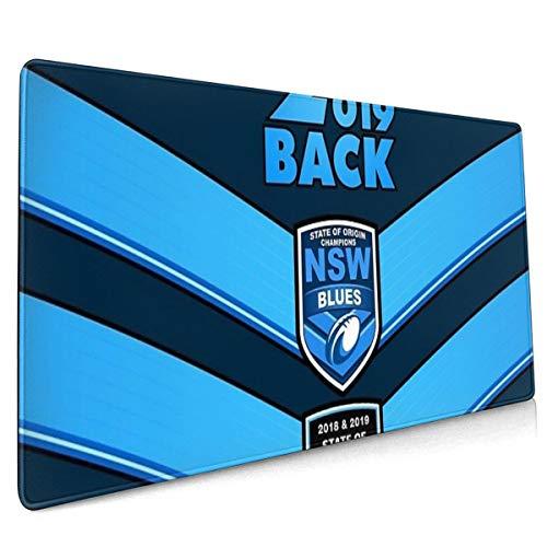 State Of Origin 2019 NSW BACK2BACK Champions Übergroßes Mauspad, 40 x 90 cm,...