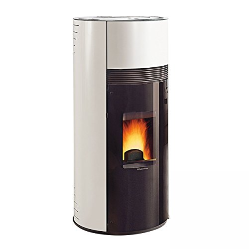 Extraflame Pelletofen 9 kW Extraflame Doroty, Farbe:Weiss Infinity