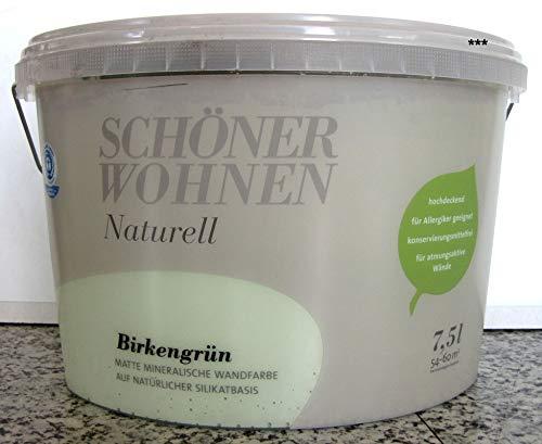 Schöner Wohnen Mineral-Wandfarbe Birkengrün 7,5 l