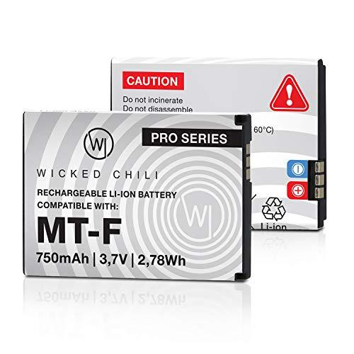 Wicked Chili Akku kompatibel mit AVM Fritz!Fon C5 / C4 / M2 / MT-F/Motorola...
