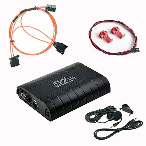 Most Bluetooth A2DP USB SD AUX Adapter KFZ-Freisprechanlage für Audi A4 A5 A6...