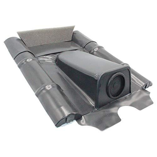Dachdurchführung für Betonziegel, Schwarzgrau pulverbeschichtet, verzinkt