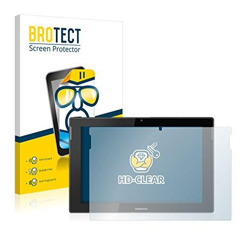 BROTECT Schutzfolie kompatibel mit Medion Lifetab S10366 (MD 99781) (2 Stück)...