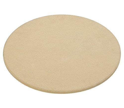 Dehner Pizzastein für Grill und Backofen, Ø 30 cm, Schamotte