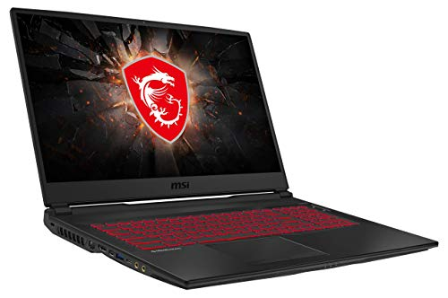 MSI GL75 9SD-220 43,9 cm (17,3 Zoll/120Hz) Gaming-Laptop (Intel Core i7-9750H,...