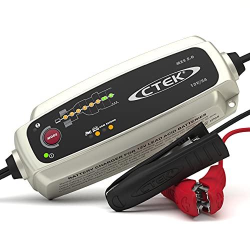CTEK MXS 5.0, Batterieladegerät 12V 5A, Temperaturkompensation, Intelligentes...