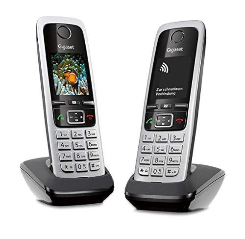 Gigaset C430HX Duo – 2 schnurlose IP-Telefone (zum Anschluss an Router oder...