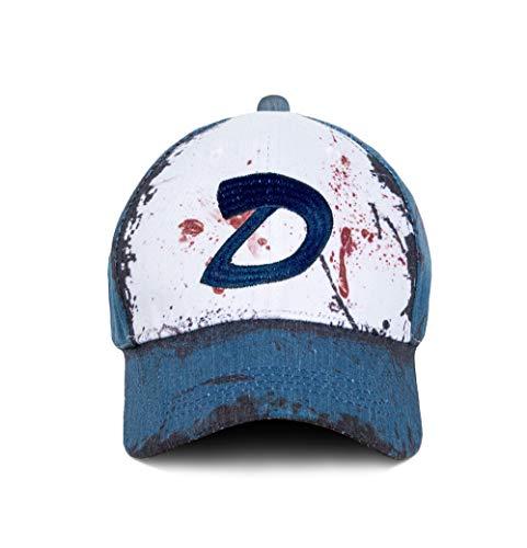 Wellgift Clementine Hut Mütze Cosplay Kostüm D Logo Stickerei Tote Zombies...