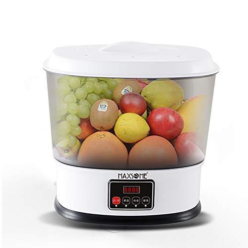 9L Haushalt Obst und Gemüse-Waschmaschine, Das Prinzip des Ozons reduziert die...