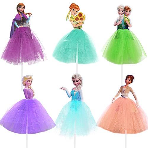 Frozen Cake Toppers Geburtstag,Prinzessinnen,Frozen Tortendeko Geburtstag Kuchen...