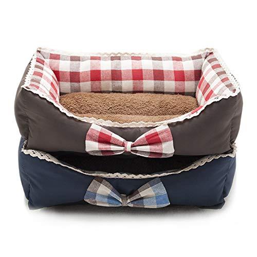 ZZmeet Haustier-Hundebett, warmes Hundehütte, weiches Material, für den...