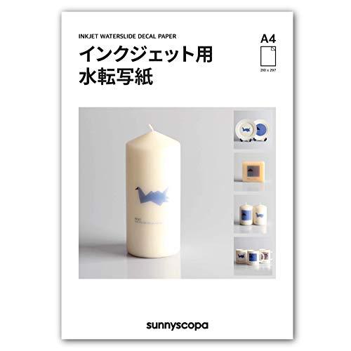 Sunnyscopa Wasserschiebefolie für Tintenstrahldrucker - personalisierte...