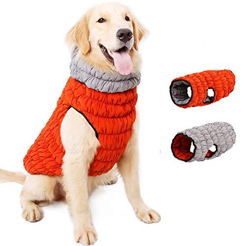 NashaFeiLi Haustierjacke, für den Winter, wendbar, warm, elastisch, haarfrei,...