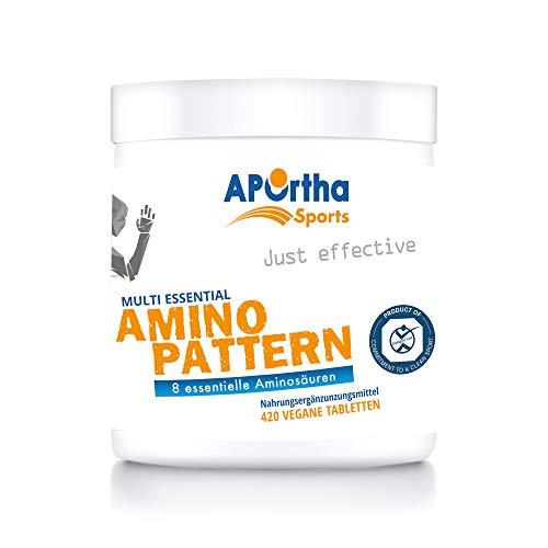 APOrtha Sports Multi essential Amino Pattern I 420 Tabletten mit 8 essentiellen...