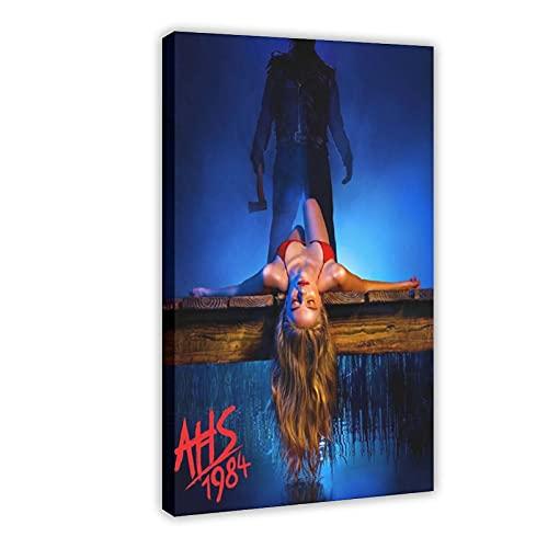 Leinwand-Poster, TV-Show American Horror Story 1984, Schlafzimmer-Dekoration,...