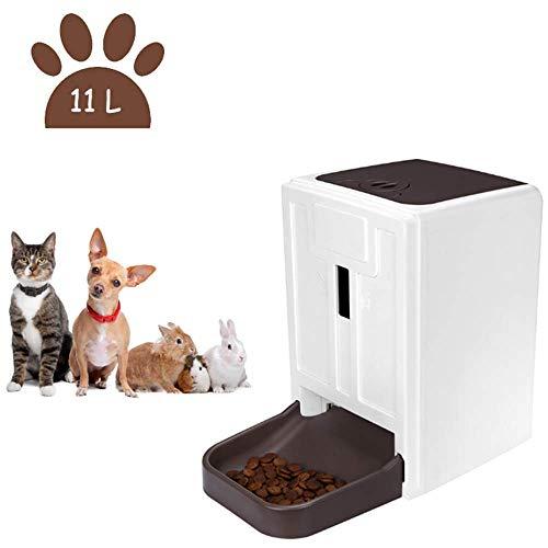 WAWZNN 11L Große Kapazität Futterautomat Haustier, Automatischer Futterspender...