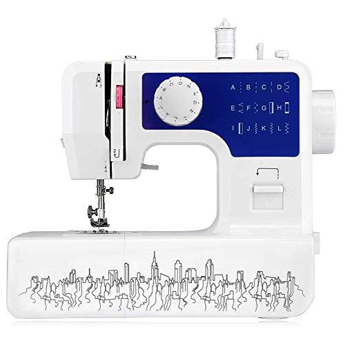 SYue Nähmaschine tragbares Crafting Mending Maschine, Portable Desktop...