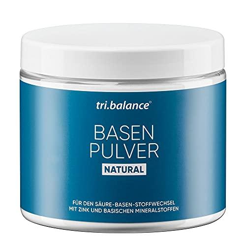 tri.balance Basenpulver Natural 300 g - 1er Pack I Classic I Mit Zink zur...