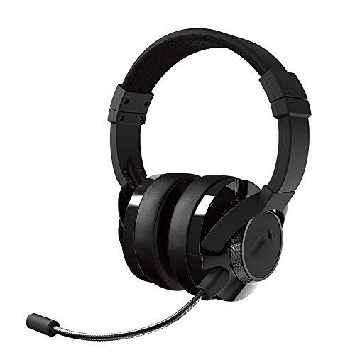 KOIUJ Headset Bluetooth-Kopfhörer Folding Mikrofone Stereo-Headset Anruf Lärm...