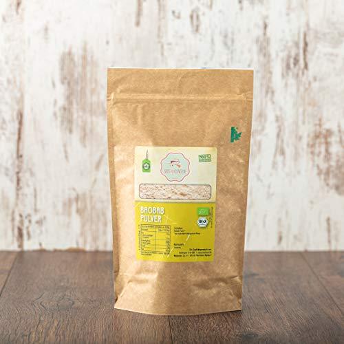 süssundclever.de® Bio Baobab Pulver   1 kg   Premium Qualität   plastikfrei...