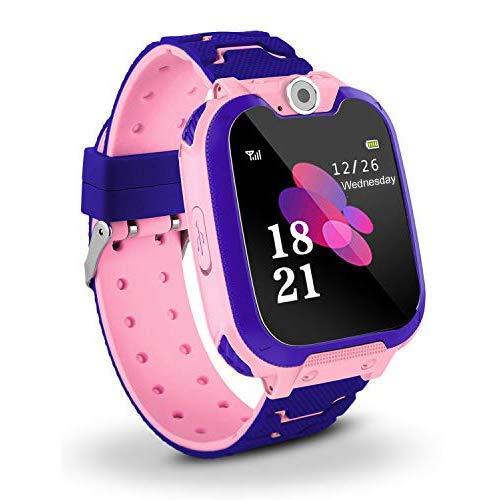 Kinder Smartwatch für Kinder mit Telefonfunktion, SIM, Wasserdicht, Handy...