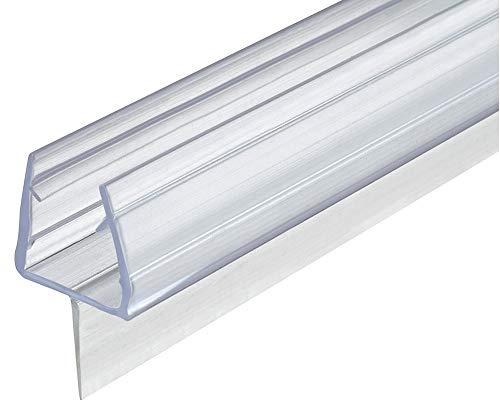 Gedotec Glastürdichtung 200 cm Duschtür-Dichtung Glas & Boden für...