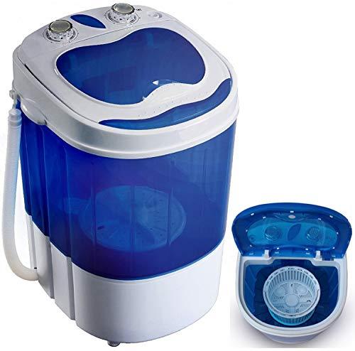 Mini Waschmaschine mit Schleuder | Waschautomat bis 3 KG | Reisewaschmaschine |...