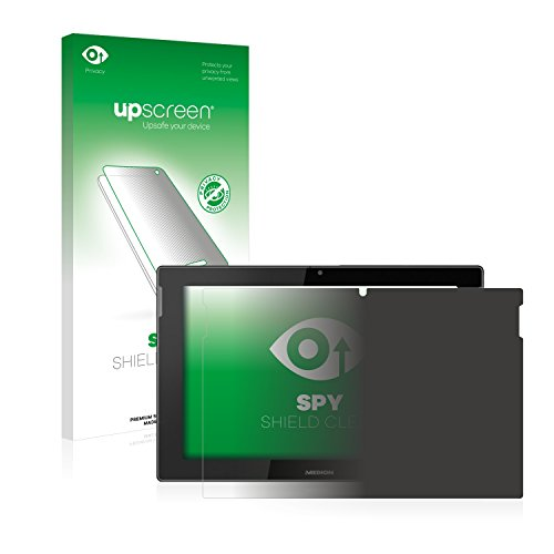 upscreen Anti-Spy Blickschutzfolie kompatibel mit Medion Lifetab S10366 (MD...