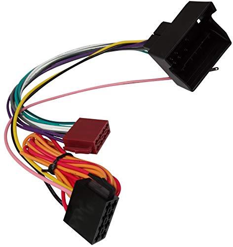 AERZETIX: Adapter Kabelbaum ISO-Stecker für Autoradio für Auto C11260