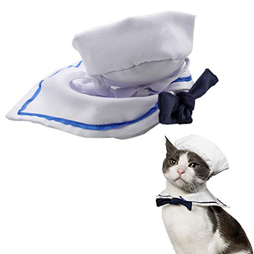 Legendog Haustierumhang Creative Navy Style Haustierumhang Hundekostüm Umhang...