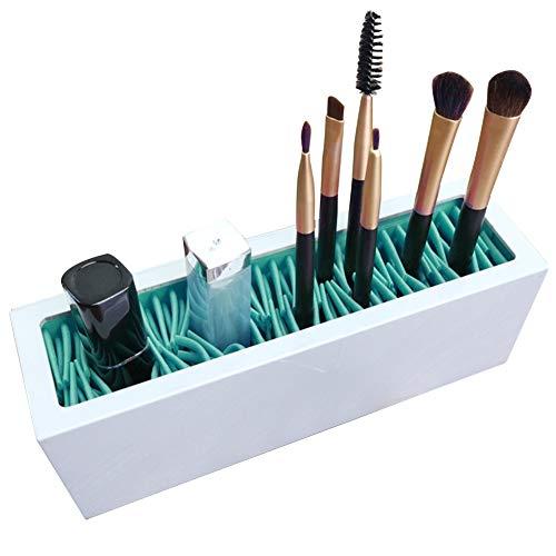 Fayeille Make-up-Organizer, praktischer Silikon-Schreibtisch-Reisen-Einsatz...