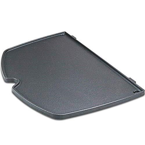 GFTIME 6559 Gusseisen Bratpfanne Grillplatte für Weber Q200, Q220, Q240, Q260,...