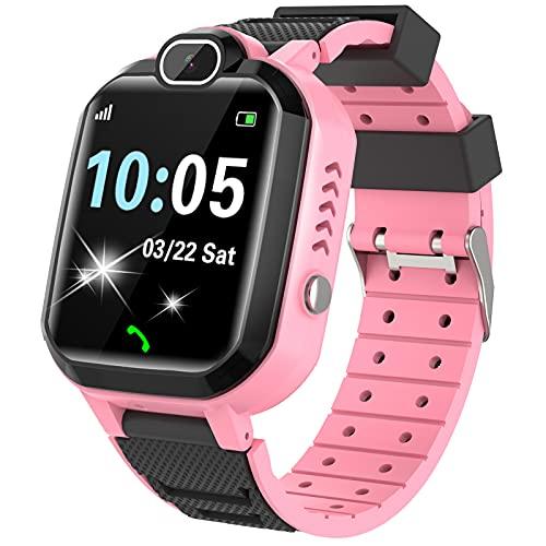 Kinder SmartWatch - MP3 Musik 7 Spiele Kids Smart Watch HD Touchscreen SOS Voice...