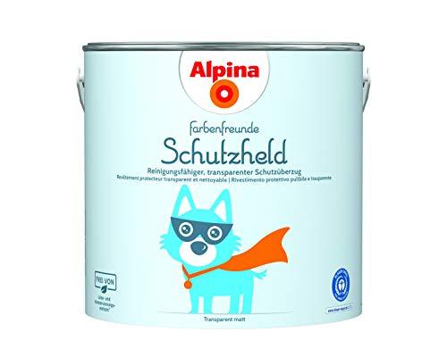 Alpina Farbenfreunde Schutzheld 2,5L reinigungsfähiger, transparenter...