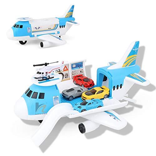 Wenhe Transport Fracht Flugzeug Auto Spielzeug Spielset Für Kinder ab 3 Jahren...