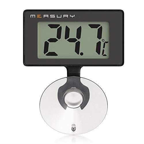 Measury Aquarium Thermometer Wasserdicht, Digitales Aquarien Thermometer für...