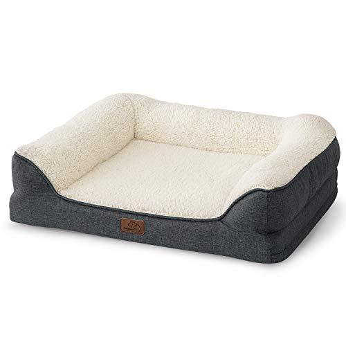 Bedsure Hundesofa Hundecouch für kleine/mittlere/große Hunde, Hundebett mit...