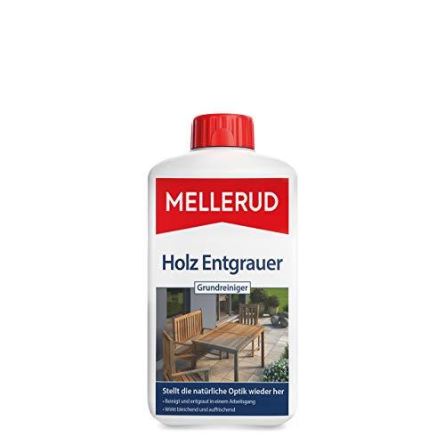 Mellerud Holz Entgrauer Grundreiniger – Kraftvoller Schutz vor Verwitterung...