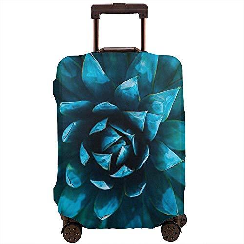 Blooming Blue Flowers Kofferbezug Protector Verschleißfeste Life Elastic...