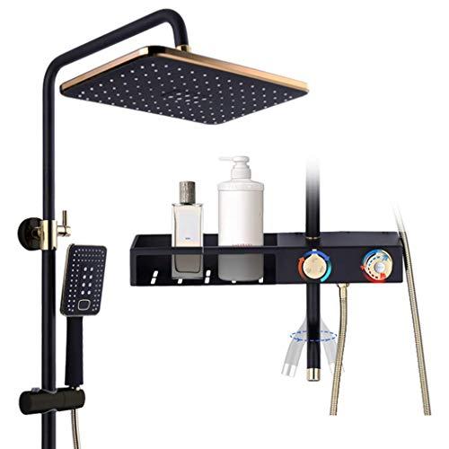 OKSS Badezimmer Duschsystem Mixer Mit Regenduschkopf Handbrause Wasserhahn Combo...