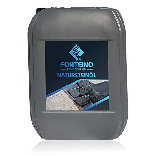 Naturstein Öl Steinöl für Granit Beton Mosaik Terrazzo Steinreniger 5L