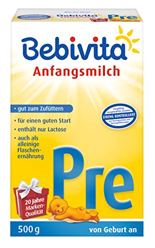 Bebivita Pre Anfangsmilch, 1er Pack (1 x 500g)