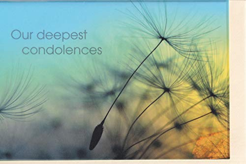 Trauerkarte englisch Our deepest condolences