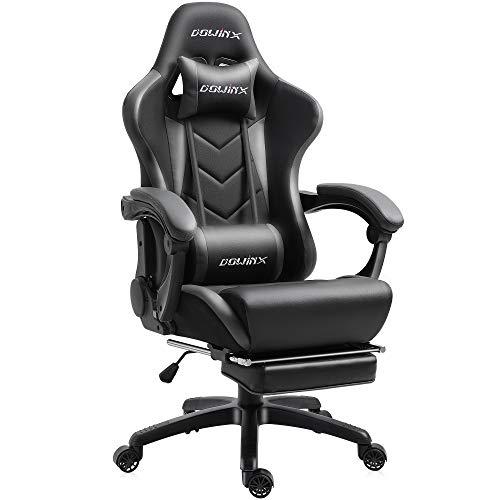Dowinx Gaming Stuhl Ergonomischer Büro Lehnstuhl für PC mit Massage...