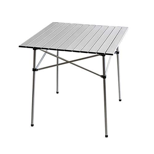 Aluminium Klapptisch 'Ameland' 70x70xH70cm Campingtisch Gartentisch...