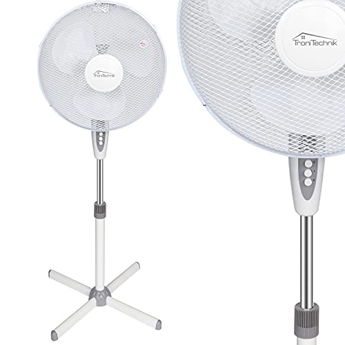 Tronitechnik Standventilator SV04, 40 cm Durchmesser, Ventilator oszillierend, 3...